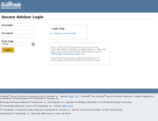 advisortrading.scottrade.com screenshot