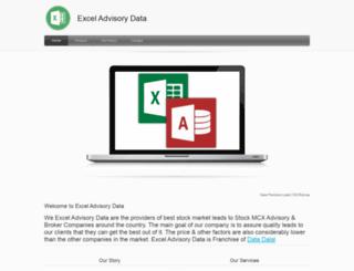 advisorydata.in screenshot