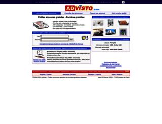 advisto.com screenshot