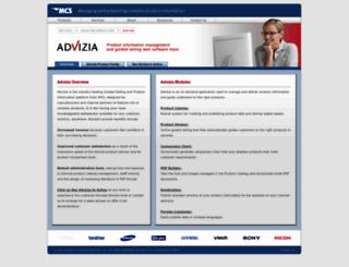 advizia.com screenshot