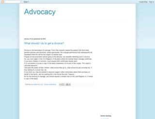 advocacyandlawyers.blogspot.com.es screenshot