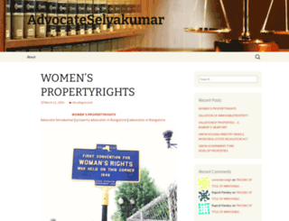 advocateselvakumar.wordpress.com screenshot
