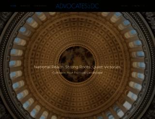 advocatesinc.com screenshot