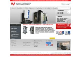 advplusmouldinjection.com screenshot