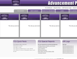 advsolutions.tcu.edu screenshot