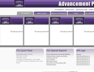 advsolutions.tcu.edu screenshot