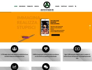 advstudio.it screenshot
