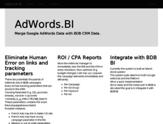 adw.bitwize.com screenshot