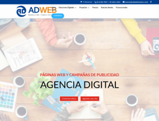 adweb.com.mx screenshot