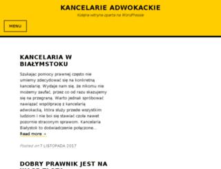 adwokaci-nbn.pl screenshot