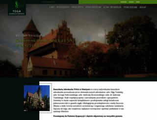 adwokaci.olsztyn.pl screenshot