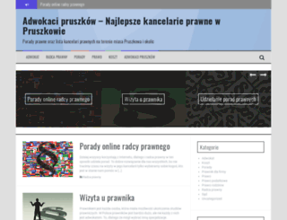 adwokacipruszkow.pl screenshot