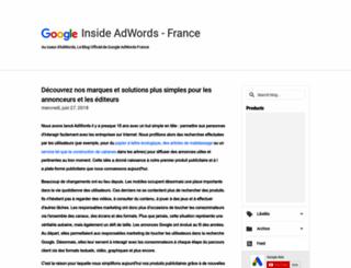 adwords-fr.blogspot.com screenshot