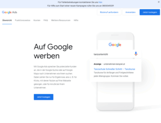 adwords-starthilfe.at screenshot