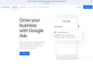 adwords.google.it screenshot