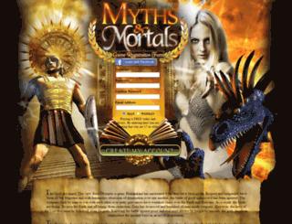 adwords.mythsandmortals.com screenshot