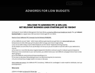 adwordspartnersindia.weebly.com screenshot