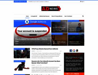 adwordssuspended.com screenshot