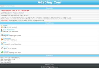 adzbing.com screenshot