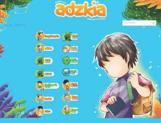 adzkia.com screenshot