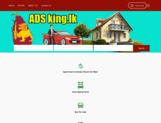 adzking.lk screenshot