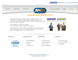 adzzoo.com screenshot