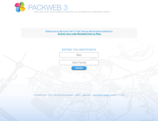 ae-feu-vert-sixfour-les-plages.packweb3.com screenshot