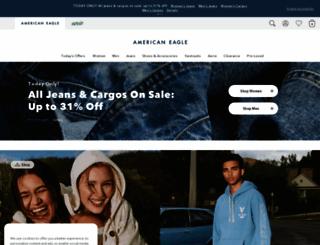 ae.com screenshot