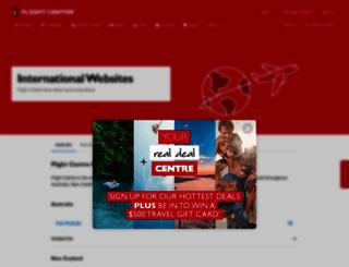 ae.flightcentre.com screenshot
