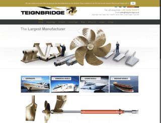 ae.teignbridge.co.uk screenshot