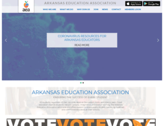 aeaonline.org screenshot