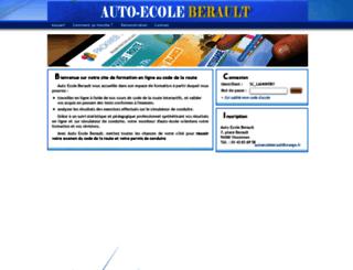 aeberault.packweb2.com screenshot