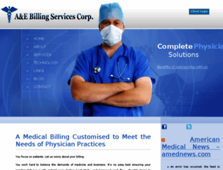 aebillingservices.com screenshot