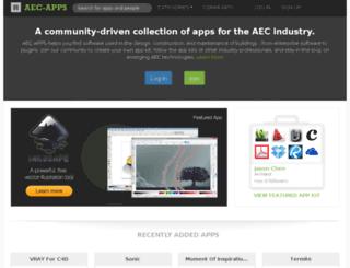 aec-apps.com screenshot