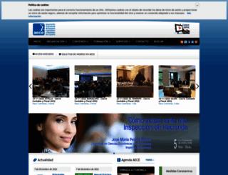 aece.es screenshot