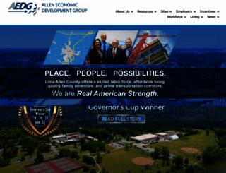 aedg.org screenshot