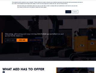 aednet.org screenshot