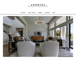 aedriel.com screenshot