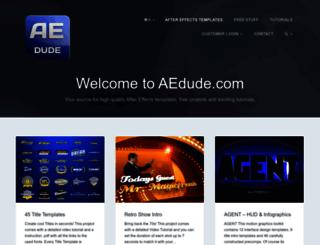aedude.com screenshot