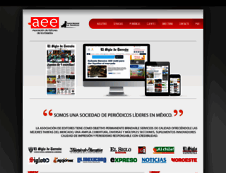 aee.com.mx screenshot