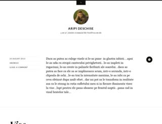 aeerdnaucnetasu.wordpress.com screenshot