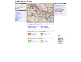 aefe-madagascar.histegeo.org screenshot
