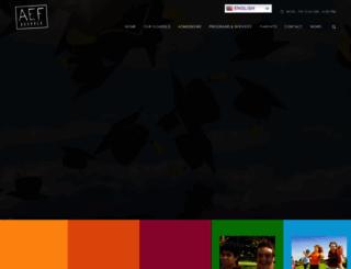 aefschools.com screenshot
