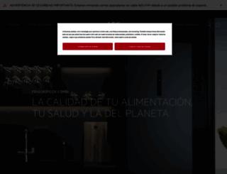 aeg-electrolux.es screenshot
