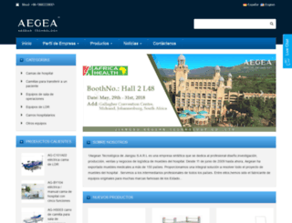 aegeachina.es screenshot