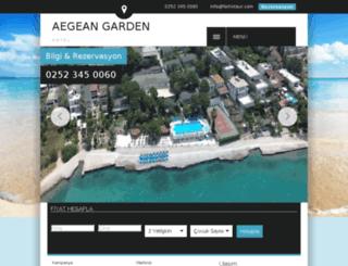 aegeangarden.net screenshot