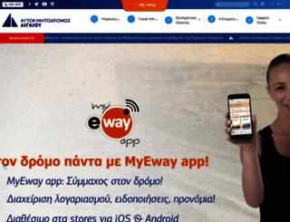 aegeanmotorway.gr screenshot