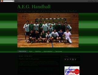aeghandball.blogspot.com.ar screenshot