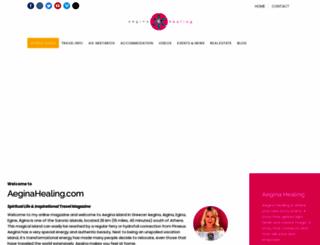 aeginagreece.com screenshot