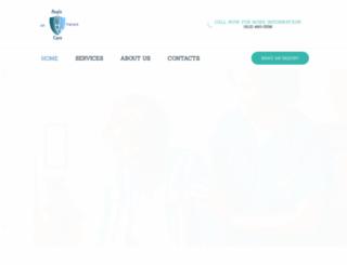 aegiscare.org screenshot